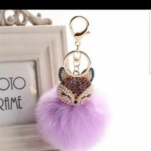 Accessories - Pom Pom Keychain